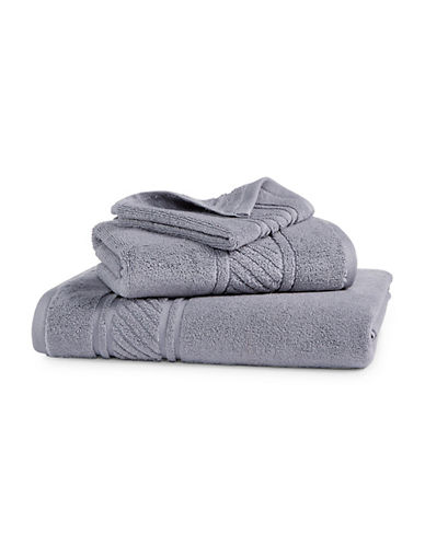 Martha Stewart Spa Solid Cotton Bath Towel-MOURNING DOVE-Bath Towel