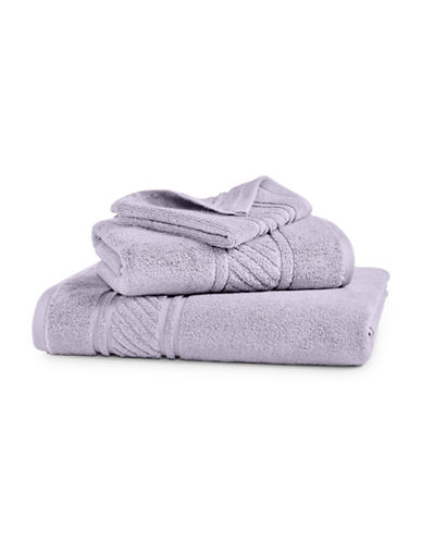 Martha Stewart Spa Solid Cotton Bath Towel-SILVER PEARL-Bath Towel