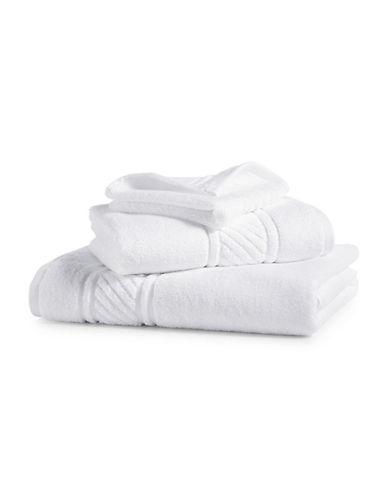 Martha Stewart Spa Solid Cotton Bath Towel-MERINGUE-Bath Towel