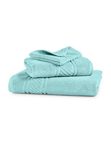 Martha Stewart Spa Solid Cotton Bath Towel-SEA SPRAY-Bath Towel