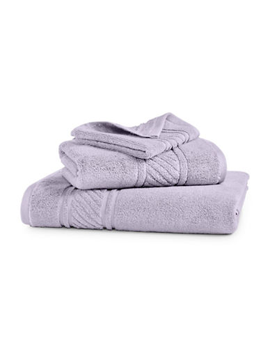 Martha Stewart Spa Solid Cotton Hand Towel-SILVER PEARL-Hand Towel