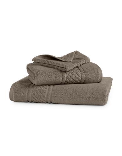 Martha Stewart Spa Solid Cotton Hand Towel-SPARROW-Hand Towel
