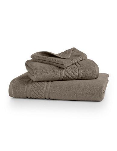 Martha Stewart Spa Solid Cotton Washcloth-SPARROW-Washcloth