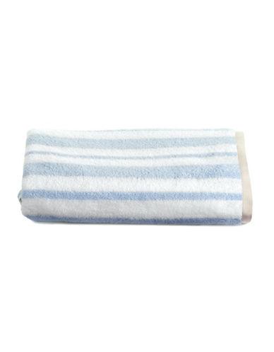 Martha Stewart Spa Stripe Cotton Bath Towel-FROZEN POND-Bath Towel