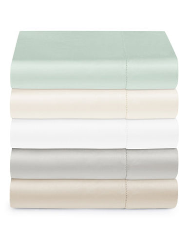 Hotel Collection 680 Thread-Count Supima Cotton Flat Sheet-SILVER-King