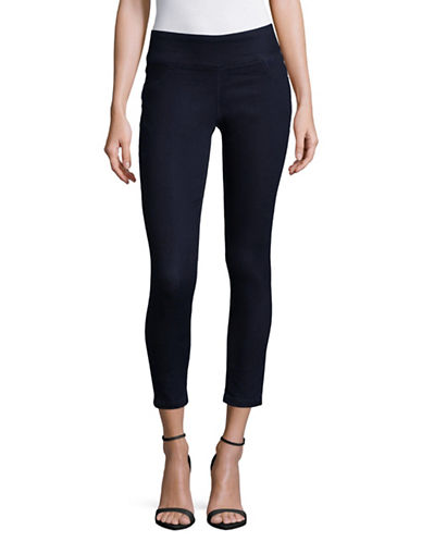 Style And Co. Petite Curvy Jeggings-BLUE-Petite Small