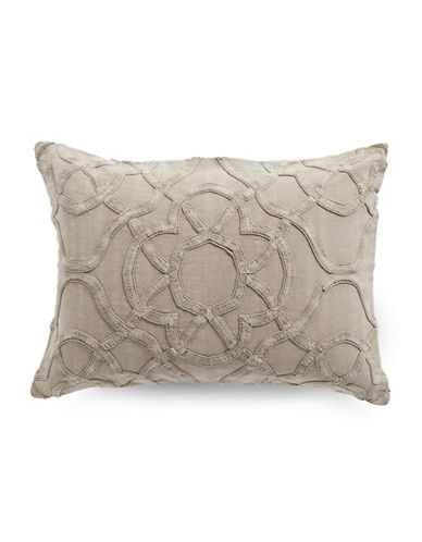 Hotel Collection Arabesque Pillow Sham-STONE-Standard