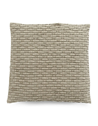 Hotel Collection Arabesque Stone Cotton Sham-STONE-European