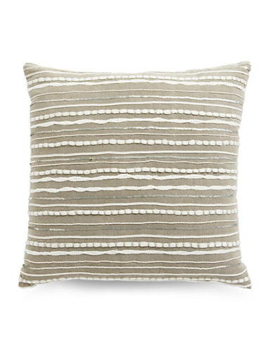 Hotel Collection Arabesque Stone Cushion-STONE-20x20