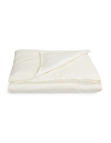Hotel Collection Trousseau Comforter Cover-WHITE-Queen