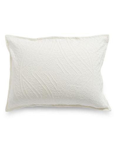 Hotel Collection Winter White Standard Sham-WHITE-Standard
