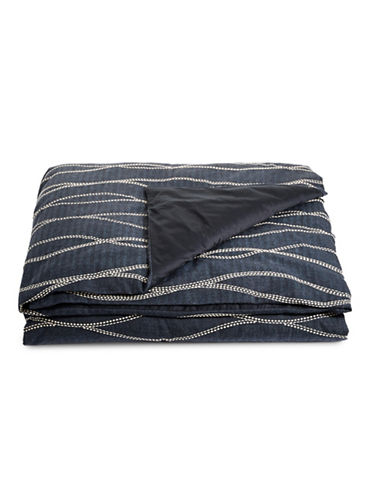 Hotel Collection Modern Wave Comforter Cover-BLUE-Queen