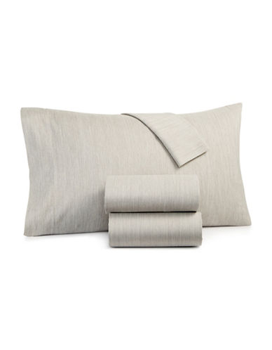 Hotel Collection Four-Piece 525 Thread Count Sheet Set-ASH-King