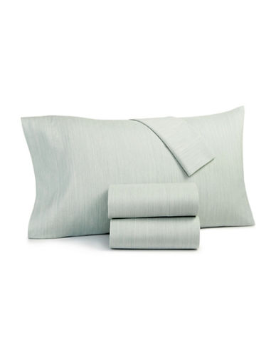 Hotel Collection Four-Piece 525 Thread Count Sheet Set-TEAL-Queen
