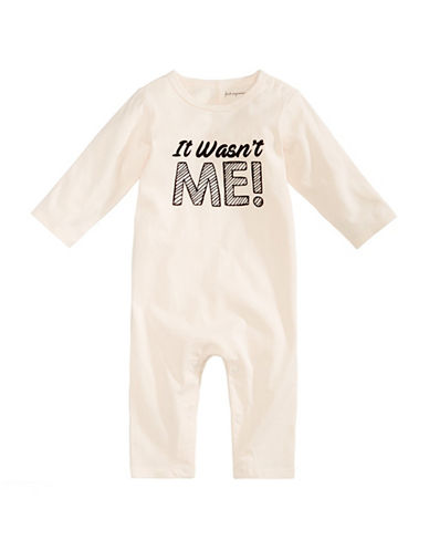 First Impressions It Wasnt Me Coveralls-NATURAL-12 Months