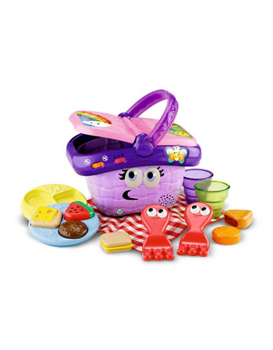 Leapfrog Shapes and Sharing Picnic Basket (French Version)-MULTI-One Size