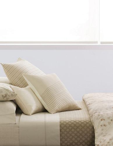 Calvin Klein Diagonal Overlay Pillow-SHELL-One Size