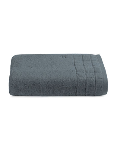Calvin Klein Sculpted Grid Cotton Bath Towel-BREAKWATER-Bath Towel