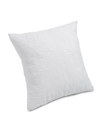 Calvin Klein Gazelle Trapped Strands Pillow-CREAM-One Size