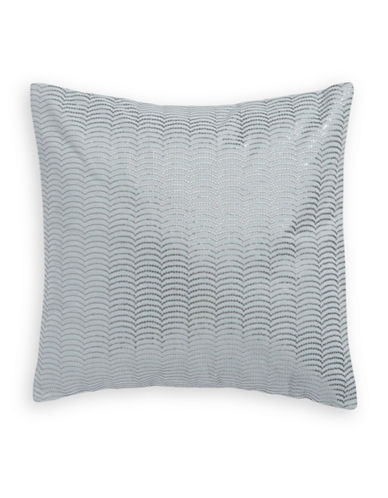 Calvin Klein Twilight Sequined Cushion-GREY-One Size
