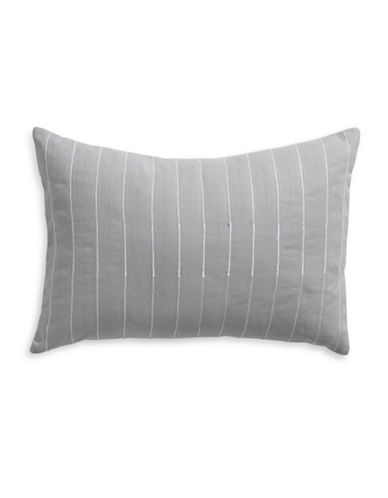 Calvin Klein Viola Lines Cushion-GREY-One Size
