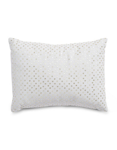 Calvin Klein Sequin Front Cushion-HEATHER-One Size