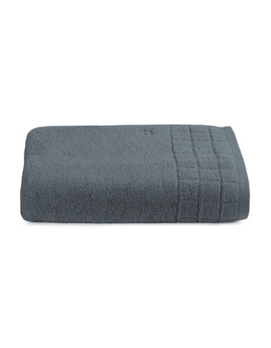 Calvin Klein Sculpted Grid Cotton Bath Sheet-BREAKWATER-Bath Sheet