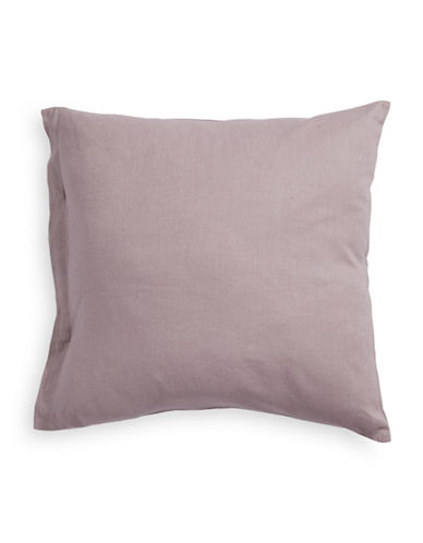 Calvin Klein Tie Sleeve Cushion-GREY-One Size