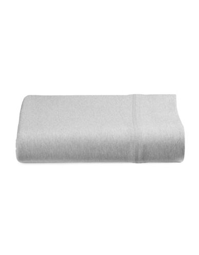 Calvin Klein Body Flat Sheet-GREY-King