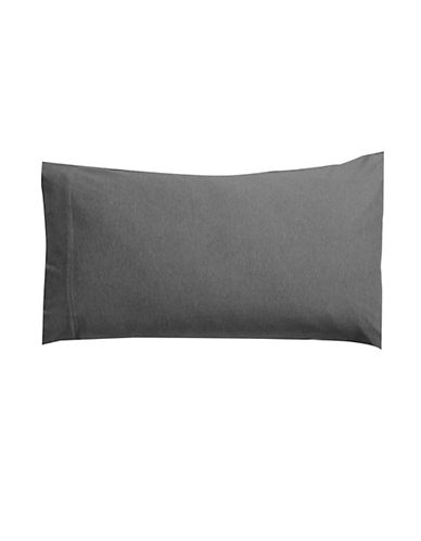 Calvin Klein Body Two-Pack Pillowcases-CHARCOAL-Standard