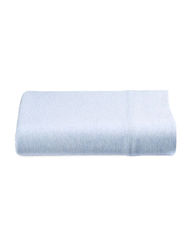 Calvin Klein Body Flat Sheet-BLUE-Twin