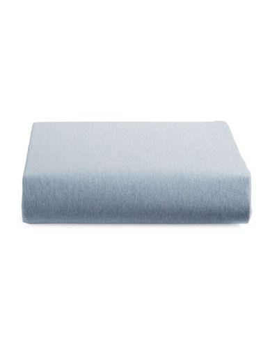 Calvin Klein Body Modern Cotton Fitted Sheet-BLUE-King