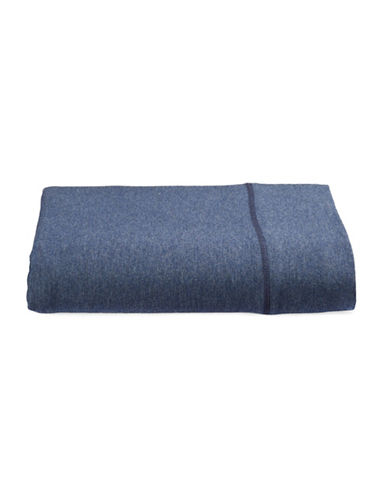 Calvin Klein Body Flat Sheet-INDIGO-King
