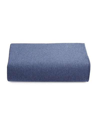 Calvin Klein Body Modern Cotton Fitted Sheet-INDIGO-Twin