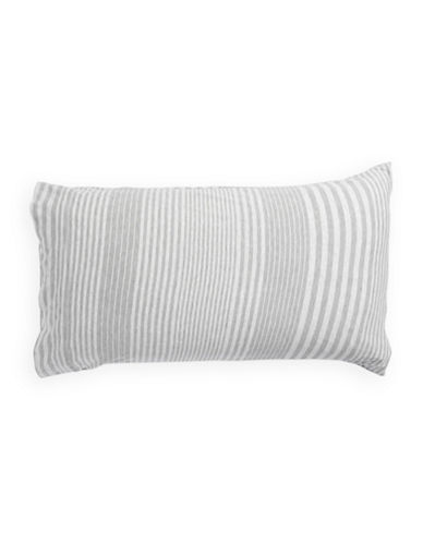 Calvin Klein Rhythm Two-Pack Pillowcases-GREY-Standard