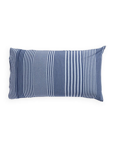 Calvin Klein Rhythm Two-Pack Pillowcases-BLUE-Standard