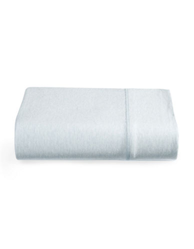 Calvin Klein Body Flat Sheet-LIGHT BLUE-King