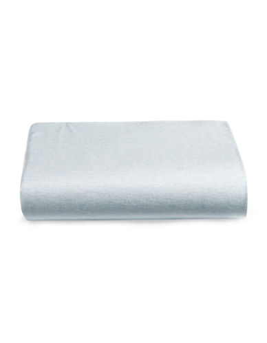 Calvin Klein Body Modern Cotton Fitted Sheet-LIGHT BLUE-King