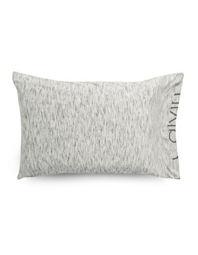 Calvin Klein Modern Cotton Strata Pillowcase Pair-GREY-Standard