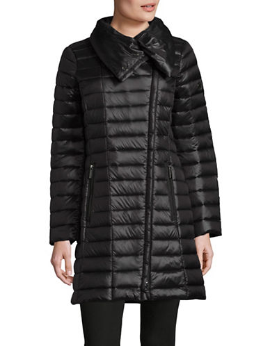 Michael Michael Kors Down Puffer Jacket-BLACK-Medium