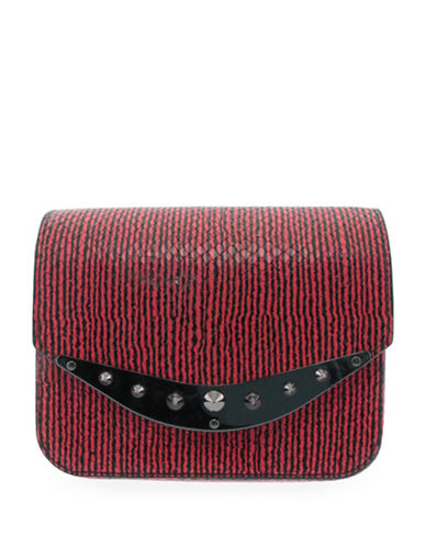 Circus By Sam Edelman Weston Crossbody Bag-RED SNAKE-One Size