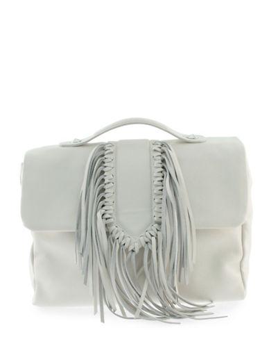 Sam Edelman Michelle Fringe Shoulder Bag-IVORY-One Size