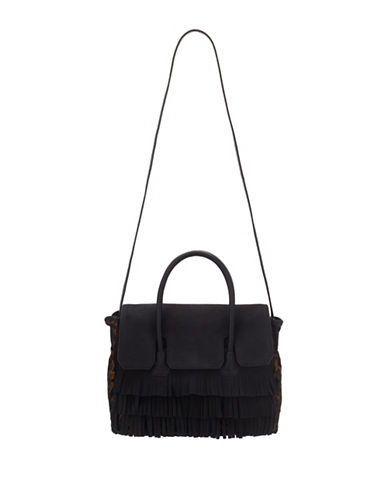 Sam Edelman Sylvia Convertible Satchel Bag-BLACK-One Size