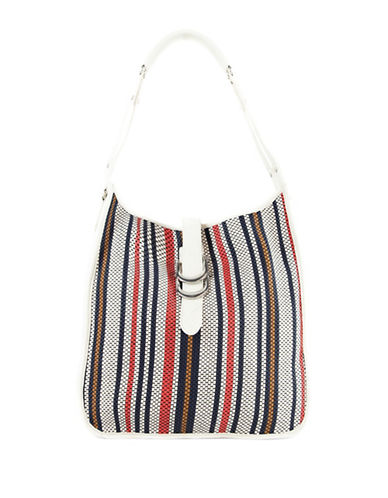 Sam Edelman Meryl Hobo Bag-WHITE MULTI-One Size