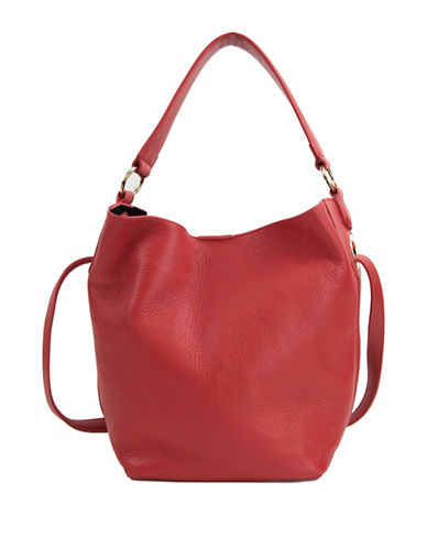 Sam Edelman Renee Bucket Bag-RED-One Size