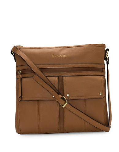 Franco Sarto Joslyn Crossbody Bag-HONEY-One Size
