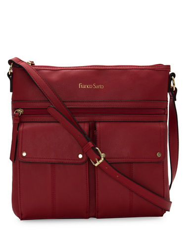 Franco Sarto Joslyn Crossbody Bag-RED-One Size