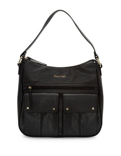 Franco Sarto Joslyn Hobo Bag-BLACK-One Size