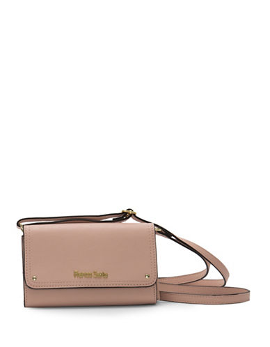 Franco Sarto Joslyn Crossbody Bag-PINK-One Size