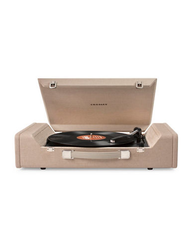 Crosley Cr6016 Spinnerette Turntable-BROWN-One Size